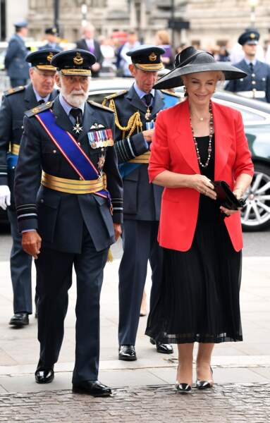Centenaire de la Royal Air Force : Michael de Kent et la princesse Michael de Kent