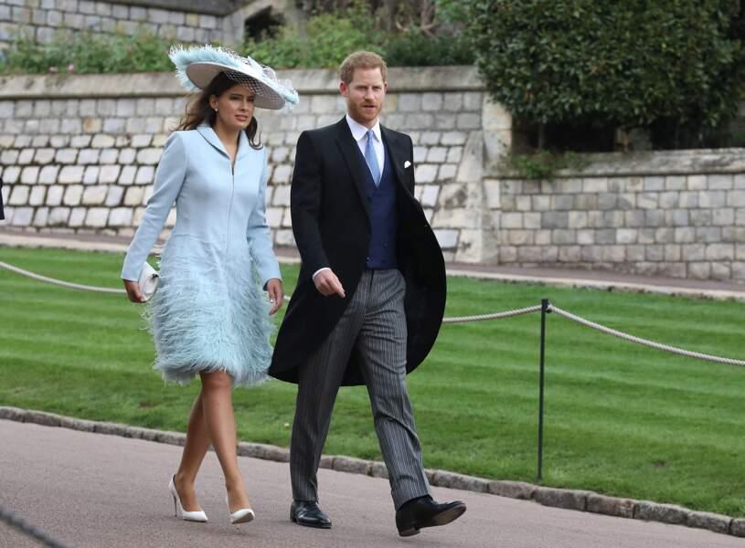 Le prince Harry est accompagné de Sophie Winkleman, une actrice britannique de 38 ans.