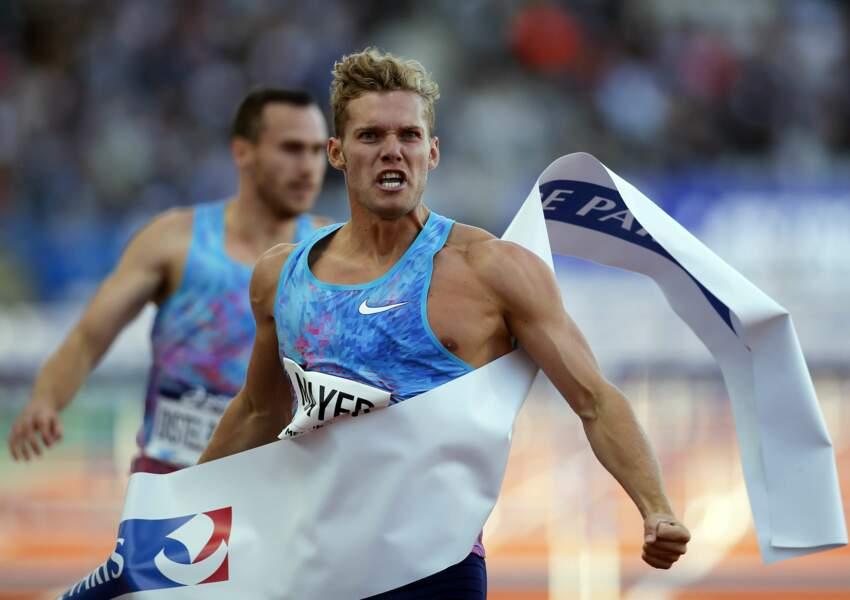 Kévin Mayer participe actuellement aux Mondiaux d'athlétisme à Londres