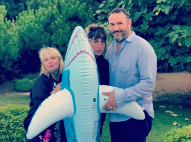 Valérie Damidot, Bruce Toussaint et Daphné Bürki rejouent Les dents de la mer