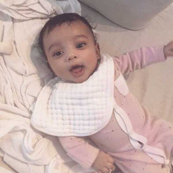 Chicago West, troisième enfant de Kim Kardashian et Kanye West, est née le 15 janvier 2018