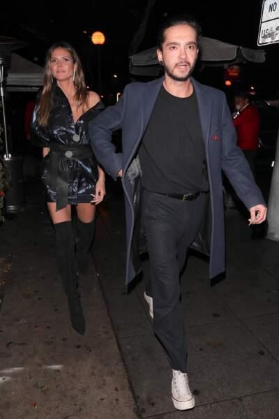 Heidi Klum (44 ans) en couple avec Tom Kaulitz, du groupe Tokio Hotel (28 ans)