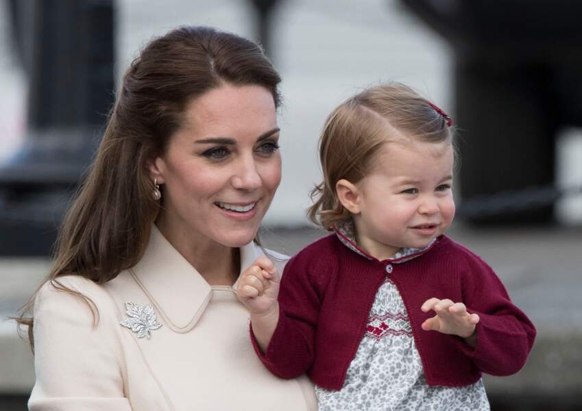 Kate Middleton et la princesse Charlotte