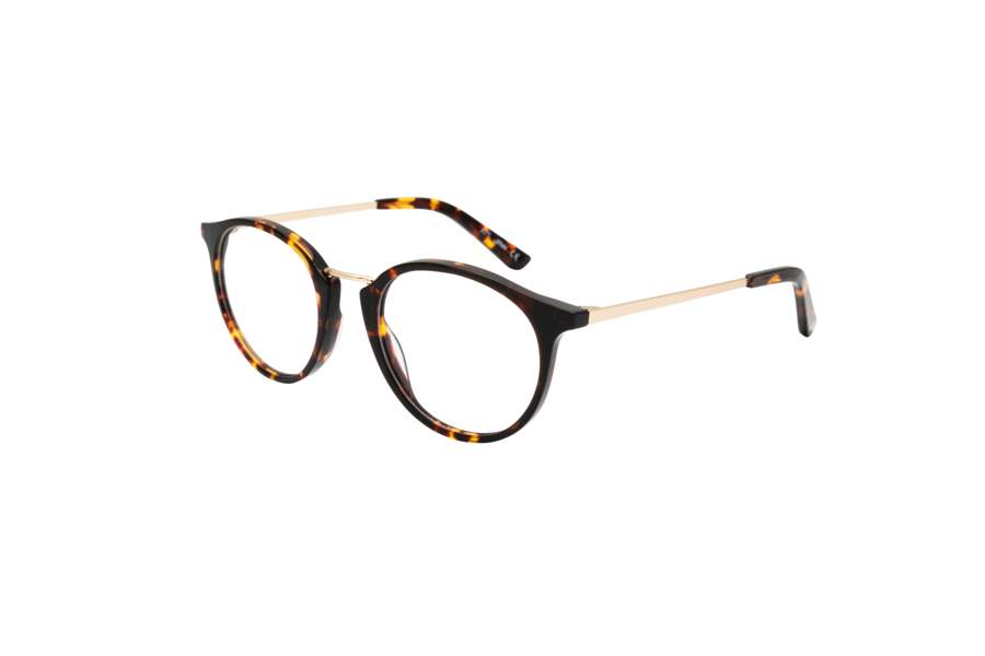 Lunette de vue écaille, 139 €, Jaw chez Optic 2000.