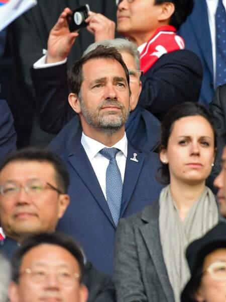 Pour Christophe Castaner, le football est une affaire sérieuse.