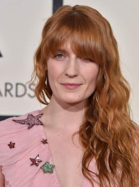 Le roux cendré de Florence Welch