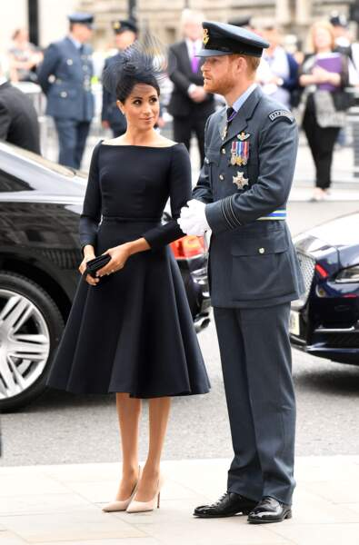 Centenaire de la Royal Air Force : Meghan Markle et le prince Harry