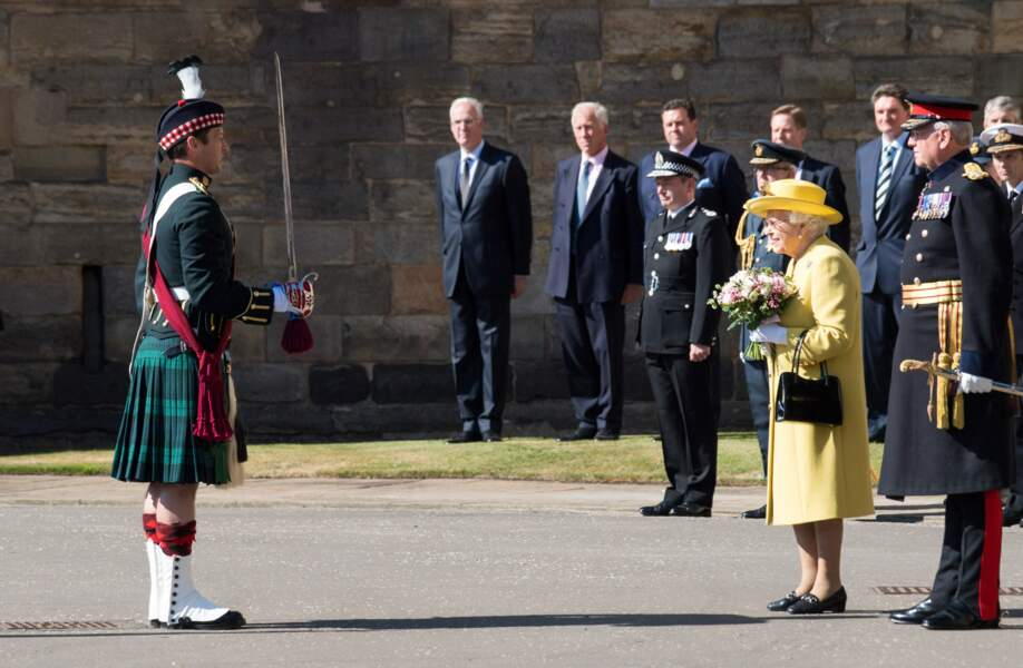 La reine Elisabeth II a lancé la Holyrood Week à Edimbourg le 2 juillet 2018