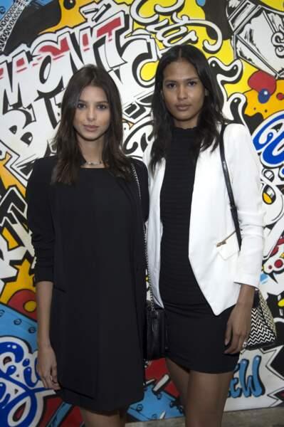 Bruna Lirio et Thayna Silva Santos