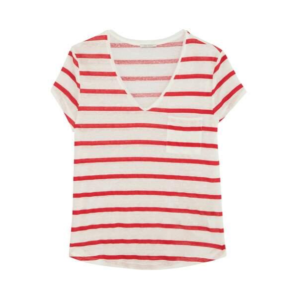 T-shirt en coton, 65 €, Ikks.
