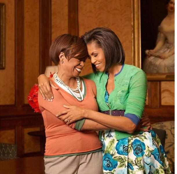 Michelle Obama et sa maman Marian Robinson