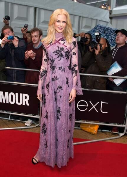 """Nicole Kidman lors de la soirée """"Glamour Women of the Year Awards"""" à Londres le 6 juin 2017"""