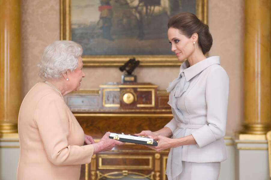 Angelina Jolie, engagée