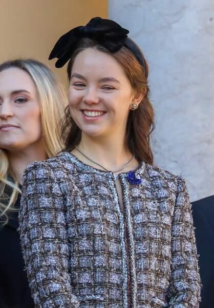 La princesse Alexandra de Hanovre à la fête Nationale monégasque à Monaco 19 novembre 2018