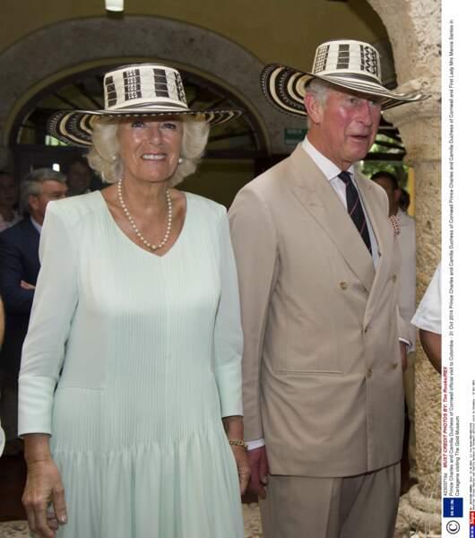 Prince Charles et Camilla en visite en Colombie - 29 Oct 2014