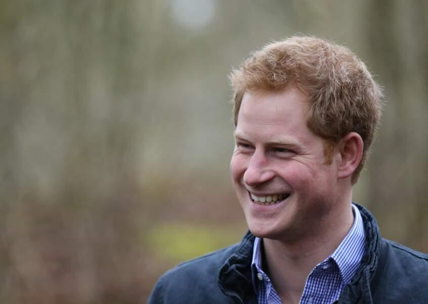 Prince Harry peut avoir le sourire!