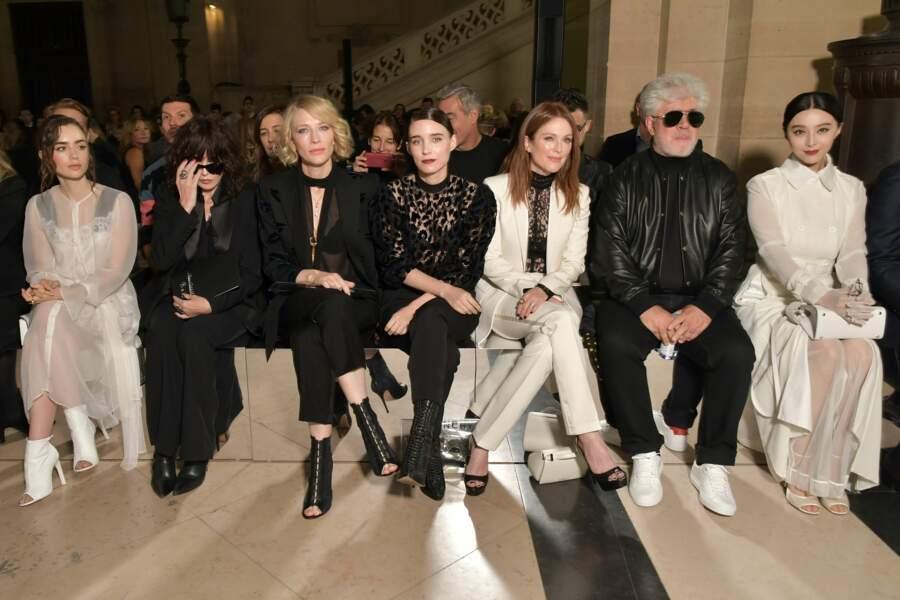 Isabelle Adjani aux côtés de Cate Blanchett et de Julianne Moore
