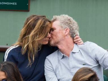 Denis Brogniart et son épouse, Cyrille Eldin et sa compagne : les bons baisers de Roland Garros