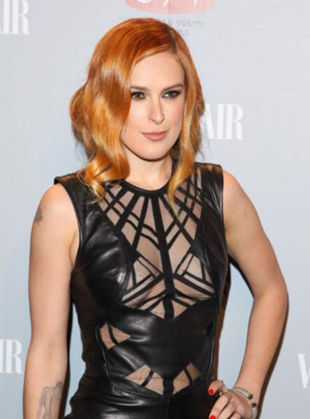 Le roux blond de Rumer Willis