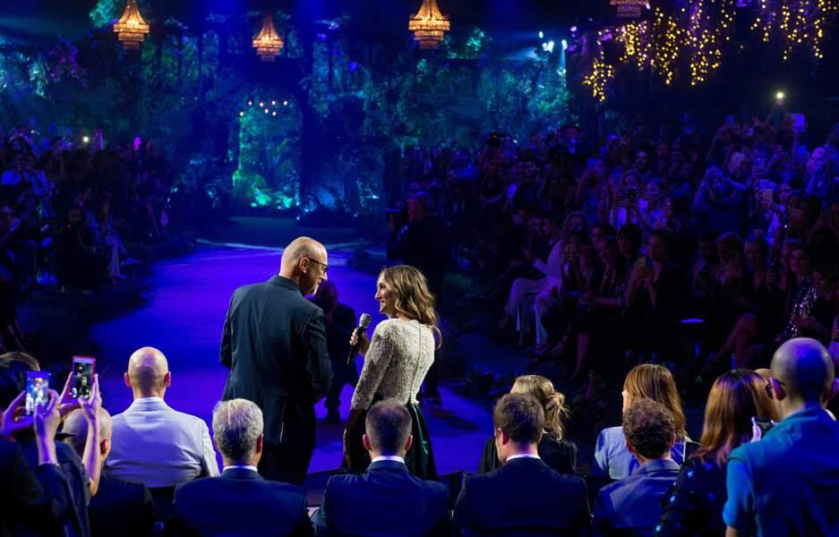 Plus qu'un défilé, un véritable show s'est tenu à Verone, avec comme invitée de marque Sarah Jessica Parker.