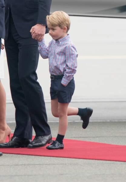L'impatience du prince George est à son paroxysme.