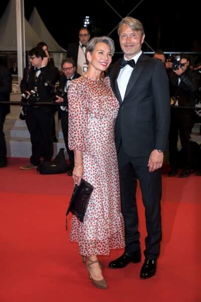 Hanne Jacobsen et son mari Mads Mikkelsen
