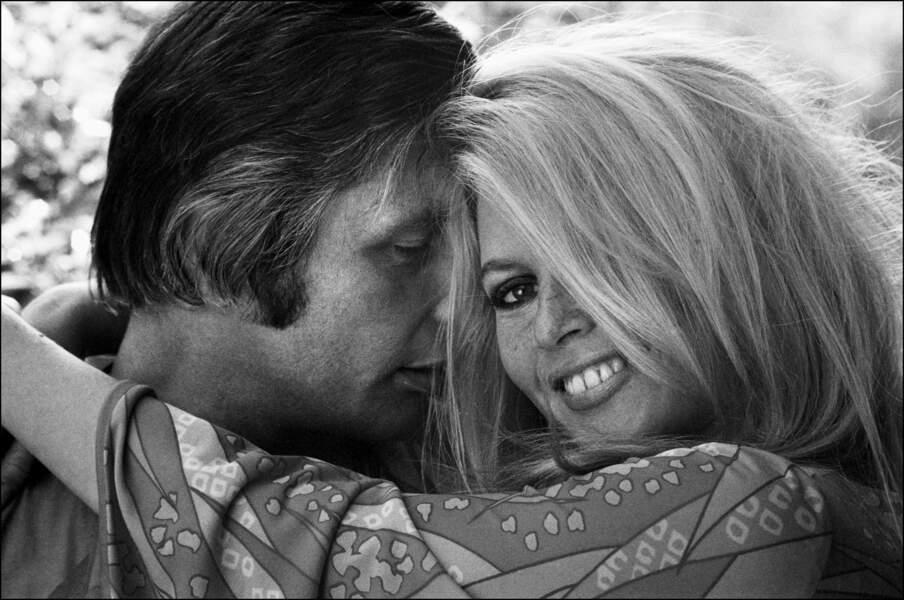 Brigitte Bardot et Gunther Sachs 1967