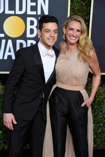 Rami Malek et Julia Roberts sublime avec son side-hair