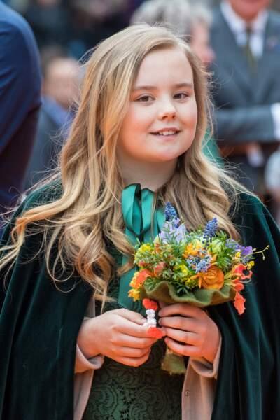 La princesse Ariane des Pays-Bas lors de la fête du Roi à Groningen le 27 avril 2018