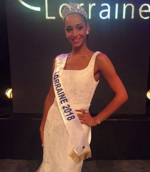 Emma Virtz, 21 ans, a été sacrée Miss Lorraine et tentera de devenir Miss France 2019