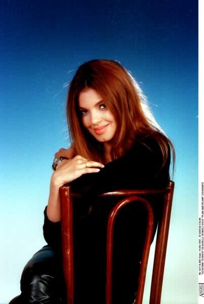 """Severine Ferrer, présentatrice de l'émission """"Fan de"""", en 1997"""
