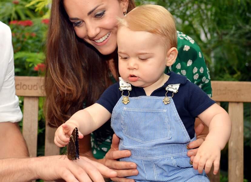 Le prince George, trop mignon, en juillet 2014 pour son premier anniversaire