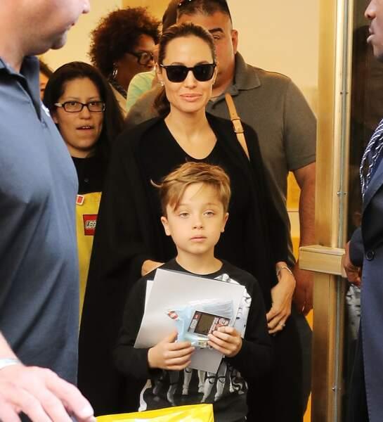 Knox et sa mère, à New York, en juin 2016.