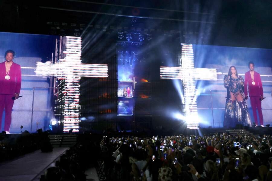 Une scénographie incroyable pour le concert événement de Beyonce