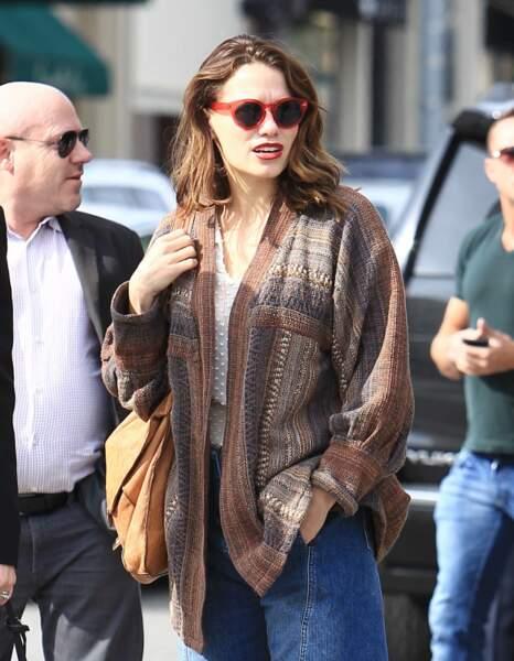Emilia Clarke dans les rues de Los Angeles, le 18 janvier 2017