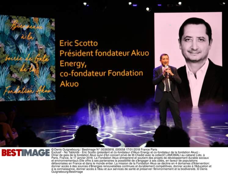 Eric Scotto (président et co-fondateur d'Akuo Energy et co-fondateur de la fondation Akuo)
