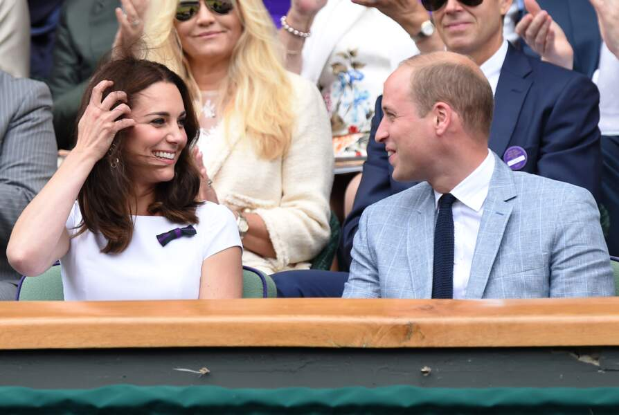 Kate Middleton et le prince William ont félicité Roger Federer pour sa victoire