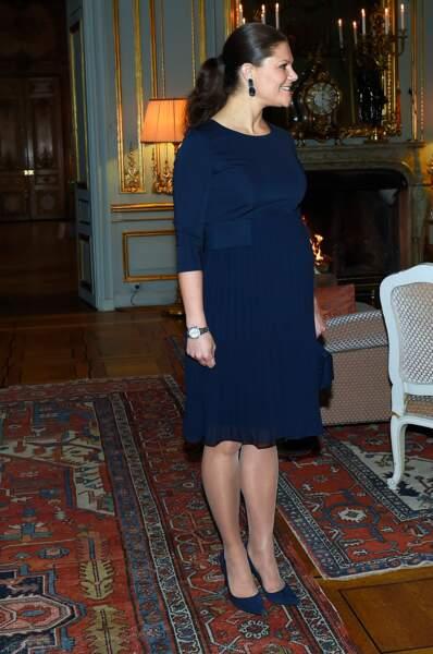 La princesse Victoria de Suède, en Séraphine.