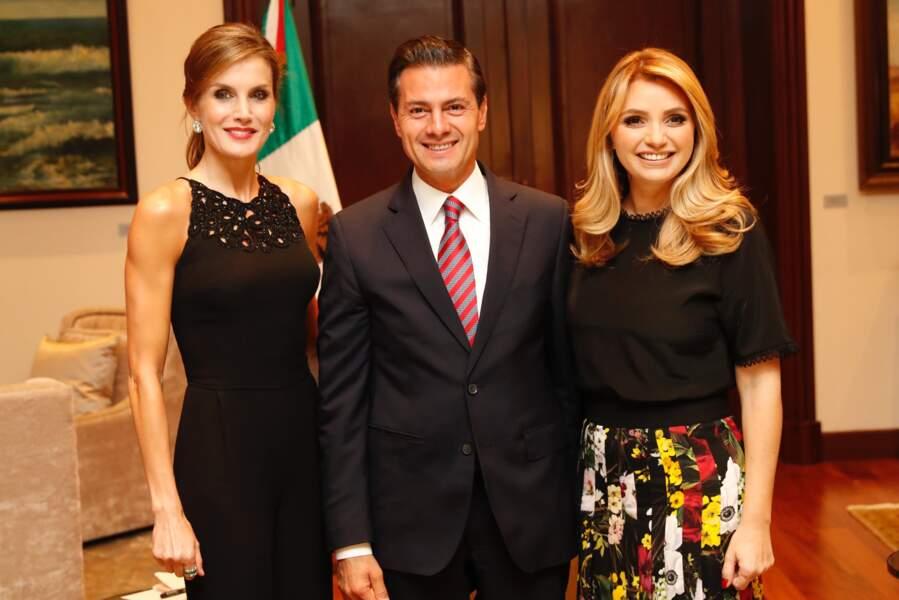 Présidente d'honneur de l'association espagnole contre le cancer, elle s'y est rendue pour un sommet