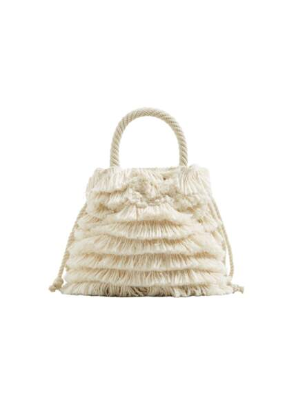 Hobo, sac à franges Mango, 49,99 € (shop.mango.com)