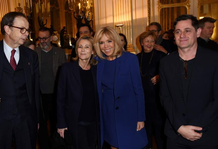 Brigitte Macron, Claire Chazal et Olivier Py, directeur du festival d'Avignon