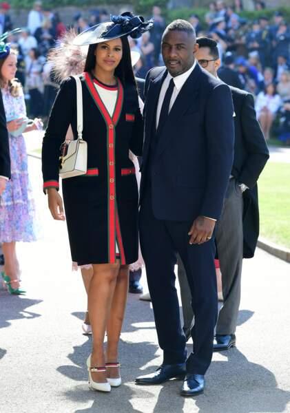 Idris Elba et Sabrina Dhowre