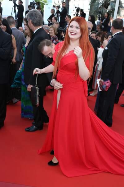 Tout est bien qui finit bien pour l'invitée du film Capharnaum qui a perdu sa robe