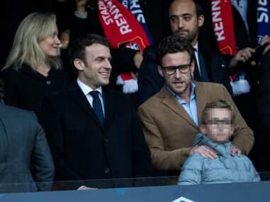 PHOTOS - Emmanuel Macron en famille au Stade de France