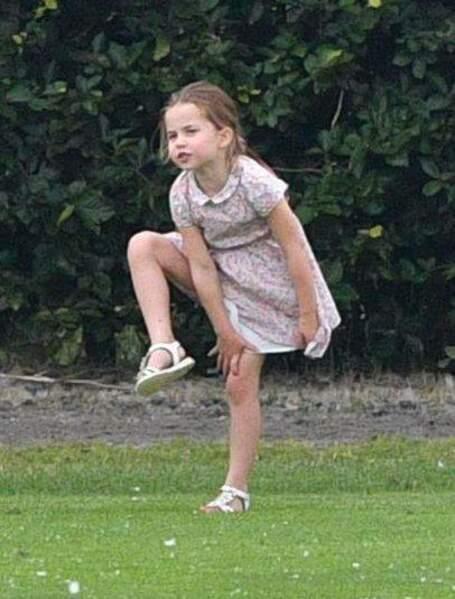 La princesse Charlotte a bien grandi