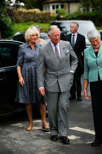 Queens 90th Birthday - Royals Visit Street Party - Gloucestershire