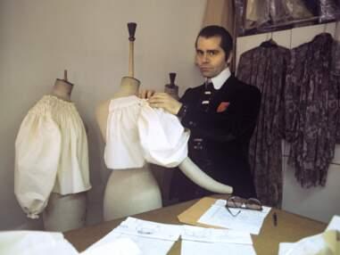 Photos - Karl Lagerfeld : barbe, catogan, mitaines : décryptage du style iconique du couturier star