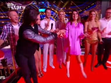 Danse avec les stars - Une robe trop courte pour Karine Ferri qui dévoile sa petite culotte
