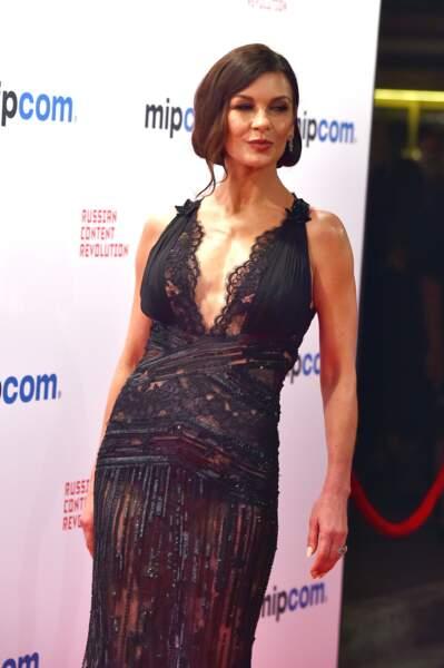 Catherine Zeta-Jones a fait sensation