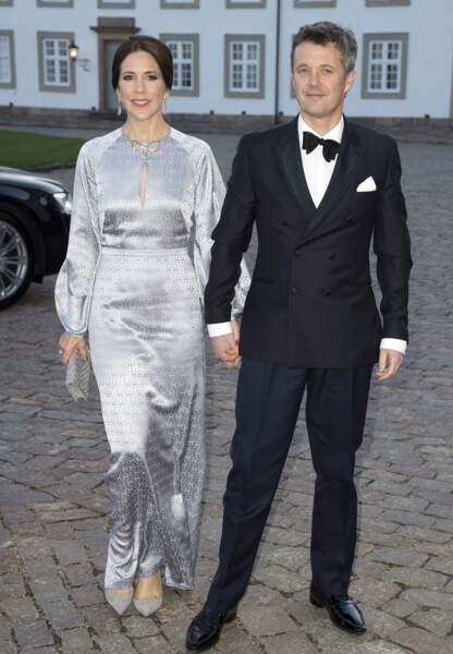 Frederik du Danemark et la princesse Mary